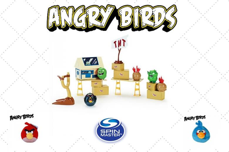 Giochi Angry Birds: Spin Master Arriva A Milano
