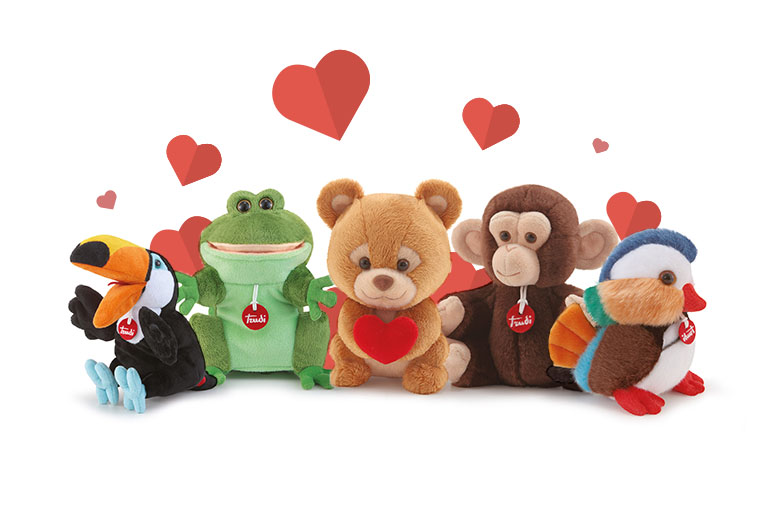 For Valentine's Day Choose Your Trudi's Plushes!