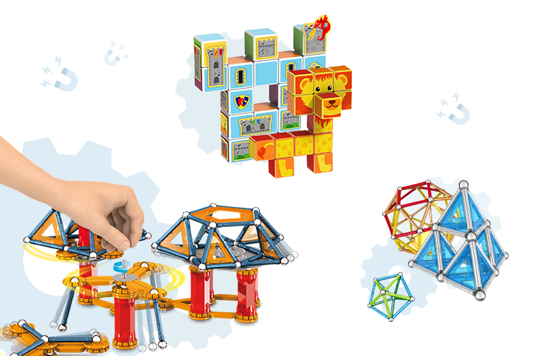 Live The Magic Of Magnetism With Geomag Constructions